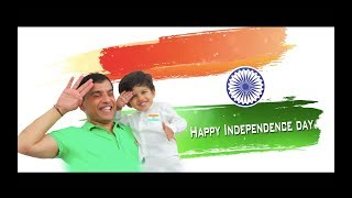 Happy Independence Day wishes from Aaransh