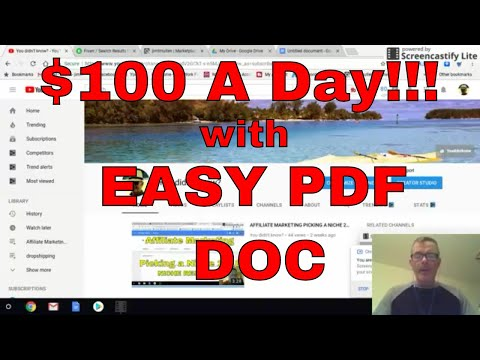 Make $100 A Day Online with PDF Submissions