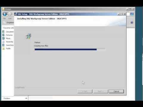 ็How to install DB2 Version 9.7