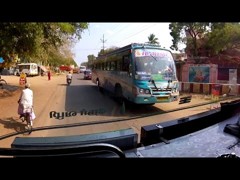 WILD INDIAN BUS RIDE! The Journey to Pondicherry