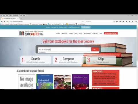 Sell your used textbooks with a click of the mouse