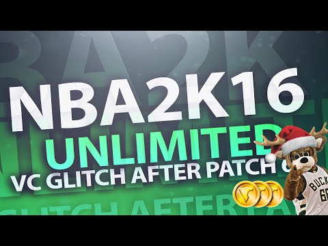 NBA 2K16 Glitches UNLIMITED VC GLITCH INSANE AND EASY AFTER PATCH 6 WORKS