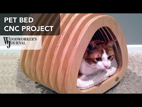 Cat Bed CNC Project | Freud Sponsored Project