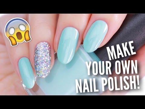 REAL DIY NAIL POLISH! | Make High Quality Nail Polish At Home!