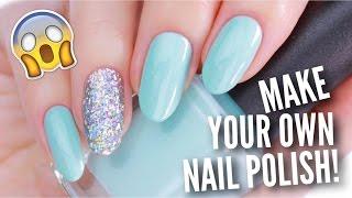 REAL DIY NAIL POLISH!   Make High Quality Nail Polish At Home!