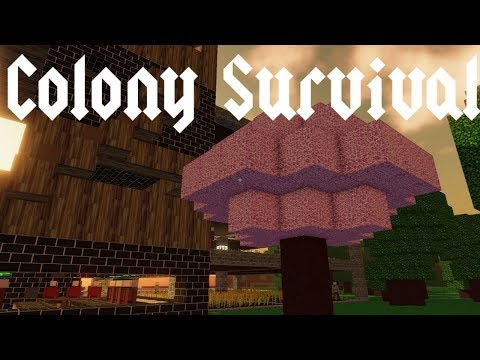 Colony Survival - Pink Trees! - Episode 13