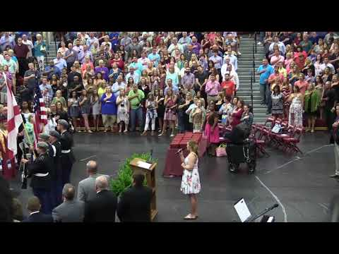 East Limestone Graduation National Anthem