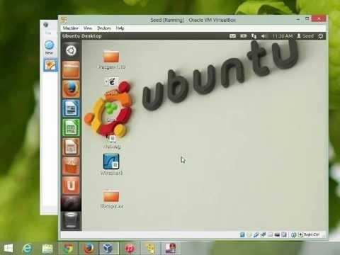 Install VirtualBox and the SEED virtual machine