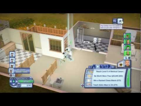 Let's Play The Sims 3: Pets - Part 12 - (PS3/Xbox 360 Console)