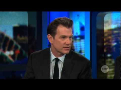 Chris Isaak interview on The Project (2013)