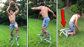 This Robot Makes You Jump 20 ft Into The Air!