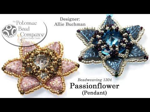 Passionflower Pendant