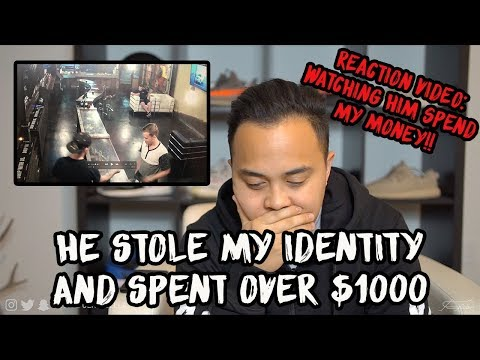 My Identity was Stolen..Story time REACTION TO HIM SPENDING $1000