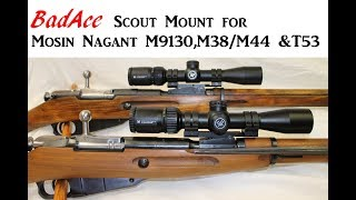 Swiss K31 NDT (No Drill-Tap) Scout Mount - for Long Eye