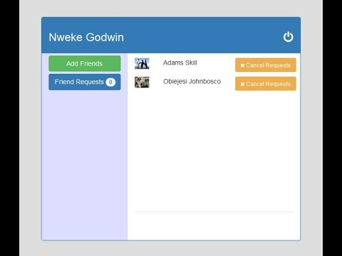 Part 4: Chat Application With Bootstrap JQuery Ajax PHP MySQL