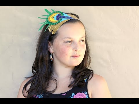 How to Make Duct Tape Headbands | Sophie's World