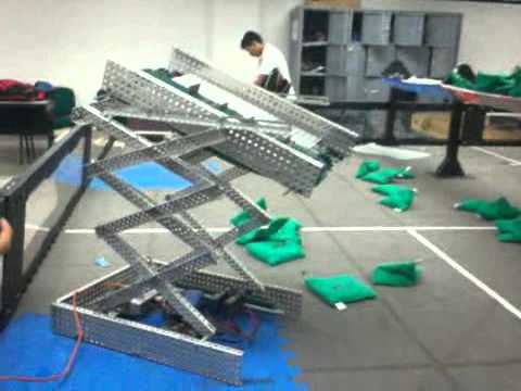 VEX Robotics scissor lift