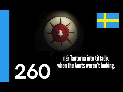 Learn Swedish - The Handmaid's Tale, a reading in Swedish - 10 Swedish Words #260