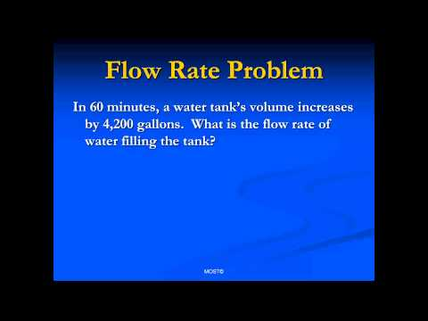 Flow Rate Example Problem pptx