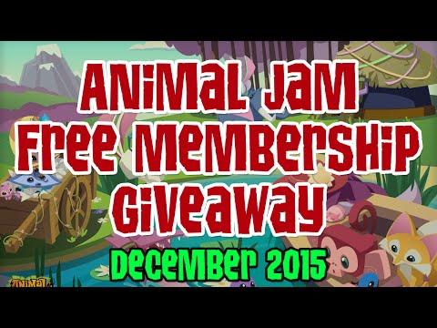 Animal Jam Free Membership Giveaway - December 2015