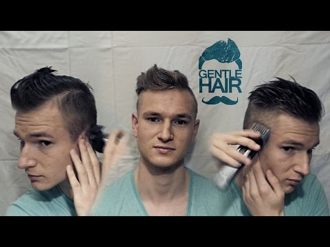 How to cut your own hair for men disconnected undercut style | Step by step tutorial | GentleHair