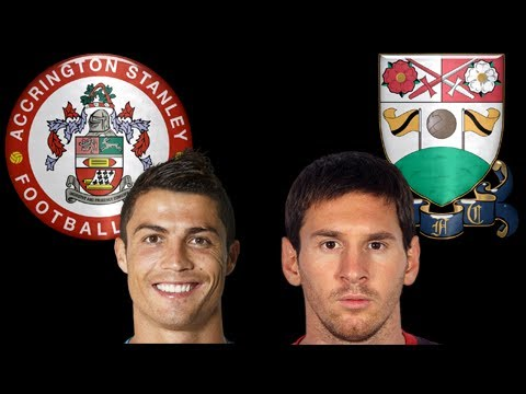 Football Manager Experiment - Ronaldo and Messi in League 2 - Part 2