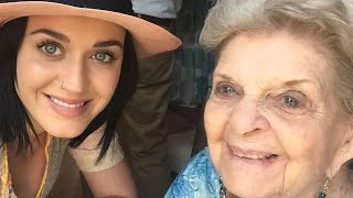 Watch Katy Perry Share Pregnancy News With Her Grandma Just Before She Died