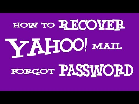 Yahoo Mail Forgot Password 2016 - How To Recover Yahoo Password Using Mobile Phone