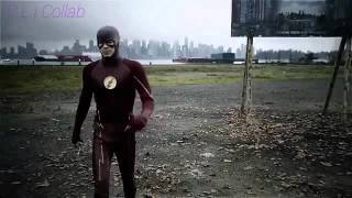 The Flash travels to earth 38 and saves Supergirl