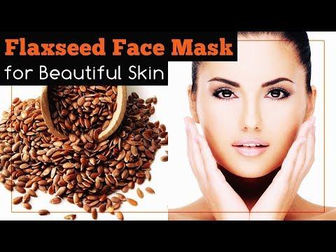 Flaxseed Face Mask for Beautiful Skin (Vegan)