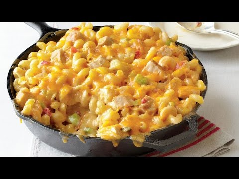 King Ranch Chicken Mac and Cheese | Southern Living