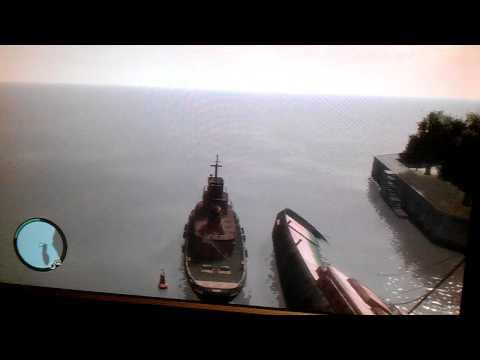 Big boat in GTA4