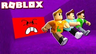 Roblox Adventures - CRUSHED BY AN ANGRY WALL IN ROBLOX! (Be Crushed by a Speeding Wall)