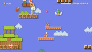 Just a bit hard!!! not for kids by ADI ~SUPER MARIO MAKER~ NO COMMENTARY