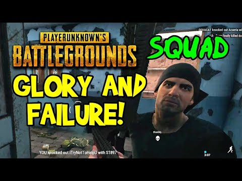 NOOB GLORY! PUBG Funny Moments & Fails With Friends! (Ep 1-2 Multiplayer Online Squad Gameplay, PC)