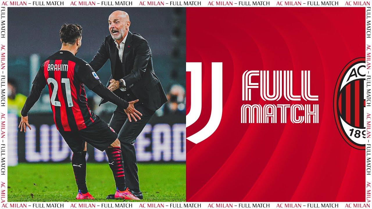 Full Match | Juventus 0-3 AC Milan | Serie A TIM 2020/21
