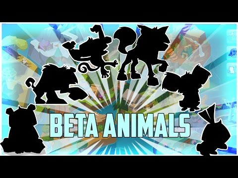 Animal Jam: Beta Animals