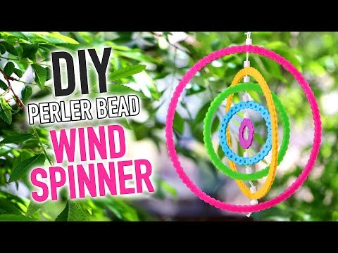DIY Perler Bead Rainbow Wind Spinner - HGTV Handmade