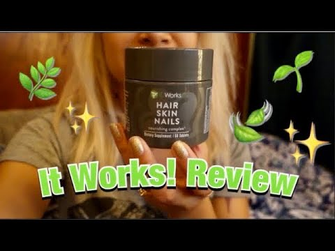 iTWorks Hair, Skin & Nails Review   awkwardflowers_