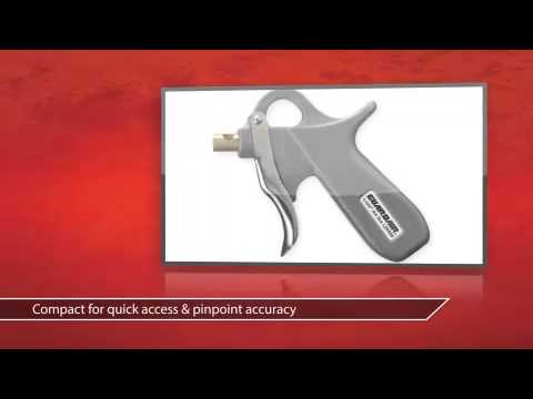 Aluminum Body 5 In. Pistol Grip Air Gun - Guardair Product Review Video