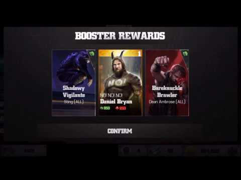 wwe immortals 100k Gold Pack opening!! Intercontinental Champions pack opening!!
