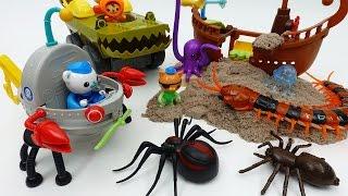 Earthquake~!! Protect Scared Sea Creatures Go Octonauts GUP F