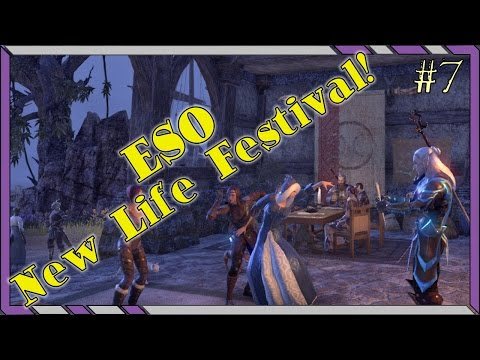 #7 Lava Foot Stomp Quest - ESO New Life Festival! Elder Scrolls Online Holiday Event