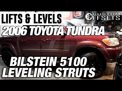 Lifts & Levels: Bilstein 5100 Leveling Struts 2006 Toyota Tundra