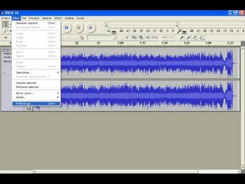 AUDACITY - CONVERTIR WAV A MP3