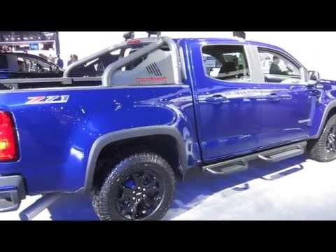 2016 Chevrolet Colorado Duramax Diesel at LA Auto Show 2015 by KrekiLA