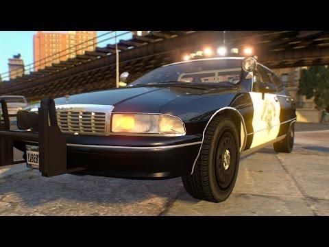 CHP Classic Caprice Police [GTA IV Car Mod]