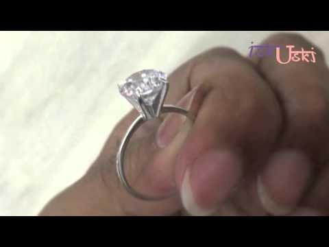 Solitaire Diamond Engagement Rings @ iskiuski.com