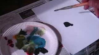 by jean pierre duvaleix cours de peinture comment faire du noir avec 3 couleurs