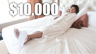 SECRET $200 VS. $10,000 Hotel Room *Suite Room Tour*